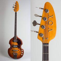 Retrofret Vintage Guitars (@retrofret) • 1968 Vox V-283 Spyder IV Hollow Body Electric Bass Vintage Bass, Vintage Guitars, Drum Music, All About That Bass, Guitar Tips, Body Electric, Cool Guitar, Playing Guitar, Musical Instruments