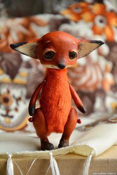 Авторская елочная игрушка от Марины Малько / Куклы из дерева, папье маше / Бэйбики. Куклы фото. Одежда для кукол