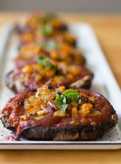Vegan-Mushroom-Pizzas