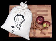 4 Sacs à vrac sacs réutilisables en coton imprimés à la Etsy, Decor, Bags, Printed Cotton, Handmade Gifts, Decoration, Decorating, Deco