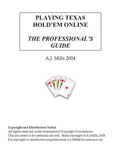 Top 34 best poker books every poker addict must read poker books playing texas holdem online the professionals guide cajmillspdf malvernweather Choice Image