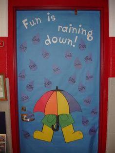 Spring Door Decorations Classroom Preschool Fun 23 Super Ideas - New Deko Sites Door Bulletin Boards, Spring Bulletin Boards, Preschool Bulletin Boards, Bullentin Boards, Toddler Classroom, Classroom Door, Preschool Classroom, Classroom Ideas, Kindergarten