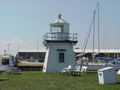 lighthouses in ohio | Cyberlights Lighthouses - Port Clinton Lighthouse