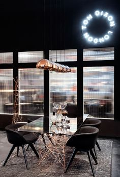 The Mesmerizing Tom Dixon Showroom in Manhattan | Get more Contemporary Lighting Ideas at http://contemporarylighting.eu