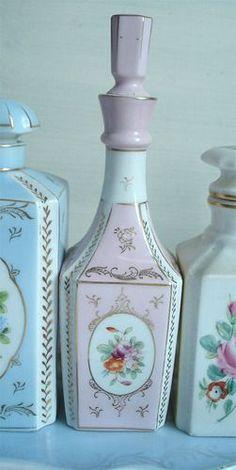 vintage perfume bottles on Tumblr