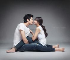 Kiss - korean prewedding picture
