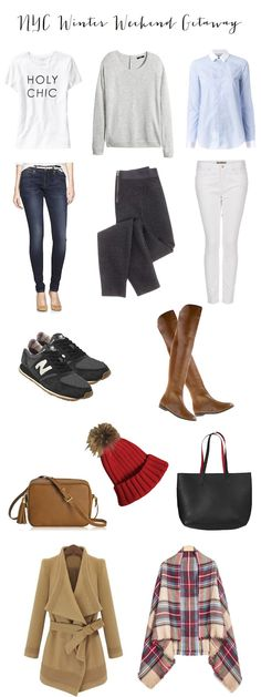 What To Wear: A Weekend in NYC The perfect packing list and outfit inspiration for a #winter getaway in #nyc
