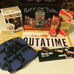 #lootcrate #octoberbox #outOfTime there is a tiny loot crate exclusive hover board! #happy #unboxing #subscriptionboxes #subscription #backtothefutute #martmcfly #doctorwho #billandted #hoverboard #october212015 by what_can_i_buy