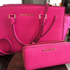 MICHAEL KORS Selma Handbag & Zip Around Wallet                                                                                                                                                                                 More