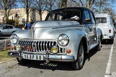 Peugeot 203 au salon de Reims.