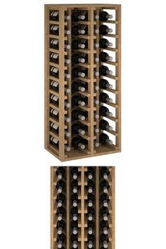 Garrafeiras fabricadas em ripas de pinho para 30 ou 40 garrafas. De acordo com o espaço disponível, ou capacidade que necessita, poderá adquirir 1 ou várias unidades.   Estas garrafeiras estarão em promoção entre 5 e 11 de Agosto e na compra de 6 ou mais unidades poderá acumular um desconto de quantidade.  Estes artigos são entregues montados. 30, Wine Rack, Storage, Furniture, Home Decor, Rustic Bookcase, Shopping, Riddling Rack, Articles