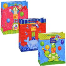 bulk large colorful gift bags for kids at