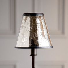 mercury glass chandelier shades | Mercury Glass Chandelier Shade - traditional - lamp shades - by ...