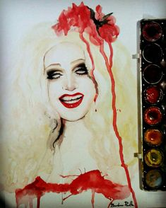 ✔Fan Art by Bárbara Peralta Jinkx Monsoon, Rupaul, Steven Universe, Queens, Fanart, Girls, Painting, Toddler Girls, Daughters