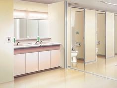 Hidden backgrounds episode interactive pinterest for Bathroom design interactive