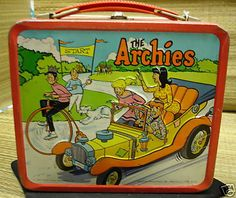 1969 The Archies Metal Lunchbox