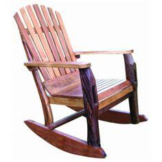 rustic teak rocking chair more outdoor ideas rocks chairs rocker ...
