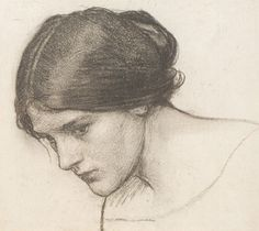 John William Waterhouse... I have always felt a closeness with this model he used in many of his paintings. She looks like me when I was younger.