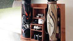 Rangement luxueux pour golfeur