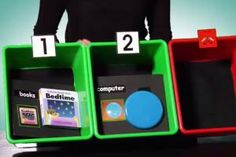 Multi-step object calendar system is a tool for communication and literacy