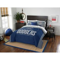 Los Angeles Dodgers The Northwest Company Grand Slam Full/Queen Comforter Set