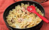 Celebrate Alaskan Cuisine with Pasta and Smoked Salmon www.compassandfork.com