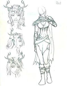 d&d female druid - Google Search