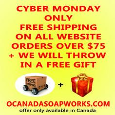 Soapworks Blog — O'Canada Soapworks All Website, Little Cabin, O Canada, News Blog, Free Gifts, Bar, Promotional Giveaways