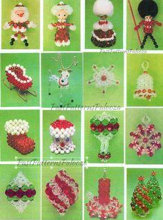Christmas Ornaments To Make, Homemade Christmas Gifts, Vintage Christmas, Christmas Crafts, Christmas Snowflakes, Christmas Jewelry, Christmas Images, Christmas Stuff, Christmas Ideas
