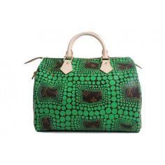 f8f2e083f4527 Authentic New Louis Vuitton Kusama Waves Speedy 30 Bag