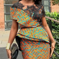The collection of Beautiful Ankara Pattern Styles For Ladies you've ever wanted to see. Want to style and pattern your African print ankara African Fashion Designers, African Fashion Ankara, Latest African Fashion Dresses, African Print Dresses, African Print Fashion, Africa Fashion, African Dress, African Prints, African Attire