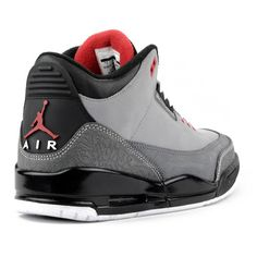Air Jordan 3 Retro Stealth Varsty Red Black White - Click Image to Close