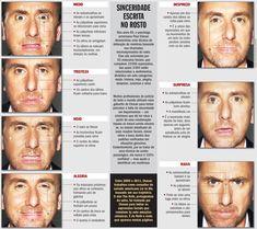 expressoes faciais lie to me - Pesquisa Google