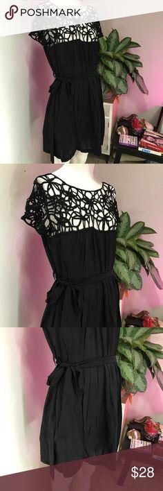 ALYTHEA SZ S CUTE CUT OUT DRESS BLACK MINI FLOWY Super cute dress Alythea Dresses