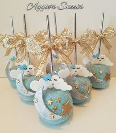 Twinkle twinkle little star baby shower CANDY APPLES