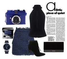 """""""Fringe"""" by sandratb on Polyvore featuring MSGM, Pierre Balmain, C/MEO COLLECTIVE, Balmain, Christian Dior and Jaquet Droz"""