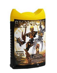 Amazon.com : LEGO Bionicle Legends Mata Nui : Toy Interlocking Building Sets : Toys & Games