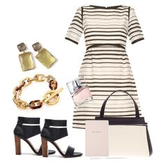 """""""Chic stripes"""" by rosemary-hmjs on Polyvore featuring Splendid, Goat, Michael Kors, Ippolita, CÉLINE, HUGO and Kate Spade"""
