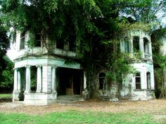 Kuala Kubu Bharu (KKB) | Another view of this gorgeous abandoned mansion near Rasa. This is the other side of  the house that was abandoned so quickly that they left their 3 cars in the garage. Locals believe the place is haunted and most people refuse to even step onto the property.
