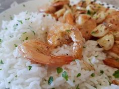 Risotto, Shrimp, Grains, Food And Drink, Rice, Meat, Dinner, Ethnic Recipes, Dining