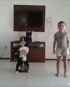 17 ideas for dancing kids funny smile Cute Funny Animals, Cute Baby Animals, Funny Cute, Cute Cats, Funny Dog Videos, Funny Dogs, Funny Memes, Dog Videos For Kids, Pet Videos