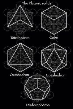 Platonic solids in Metatron's cube in Shapes von sacred geometry Geometric Patterns, Geometric Designs, Geometric Shapes, Simple Geometric Pattern, Art Patterns, Geometry Art, Sacred Geometry, Platonic Solid, Shape And Form