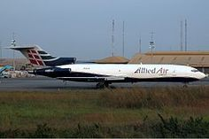 2012 ♦ June 2 – Allied Air Flight 111, a Boeing 727, overruns the runway on landing at Kotoka International Airport, Accra, Ghana, and crashes through a fence; the aircraft then hits a bus on a nearby road; all 4 crew survive but 12 are killed on the ground.