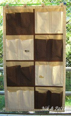 organizador ou sapateira em tecido com molde - Pesquisa Google