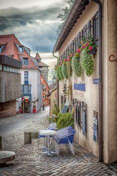 Street Cafe, Nuremberg, Germany