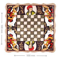 Elegant #wooden #handmade #Chess and #Backgammon board with special curved #design. Offered by: #Shik #Handicrafts. price : £198, free shipping To see more visit: www.shik.uk/