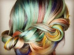 Macaron hair. It's here.