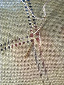 Embroidery Hardanger This post was discovered by Em Basic Embroidery Stitches, Crewel Embroidery Kits, Hardanger Embroidery, Types Of Embroidery, Embroidery Patterns Free, Hand Embroidery Designs, Embroidery Techniques, Embroidery Thread, Cross Stitch Embroidery