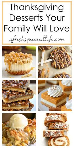 THANKSGIVING DESSERTS Whether your Thanksgiving gathering is fun, fancy or traditional, these impressive desserts are sure to please. Grab the apples… - Metarnews Sites Winter Desserts, Best Thanksgiving Recipes, Thanksgiving Desserts Easy, Fall Dessert Recipes, Desserts For A Crowd, Holiday Desserts, Holiday Baking, Holiday Recipes, Kitchens