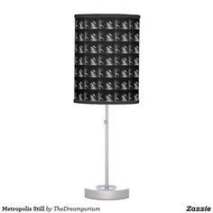 Metropolis Still Table Lamps